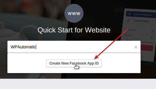 how to create click id