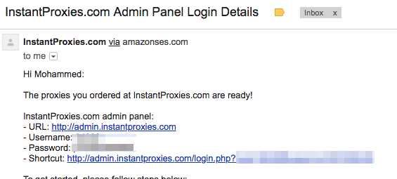 How to use private proxies with Pinterest Automatic