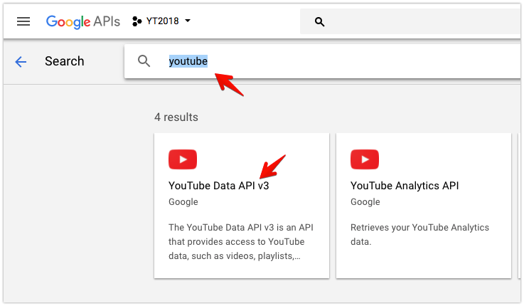 How to get a Youtube API Key to post from youtube to wordpress
