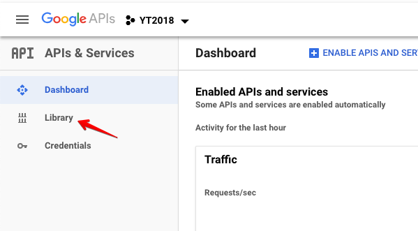 How to create a Google custom search api key